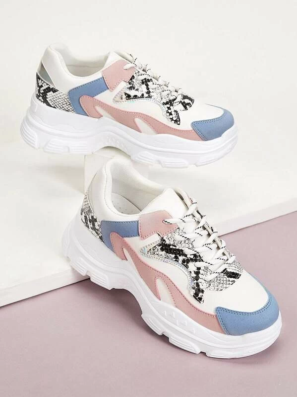 Chunky sneakers, Casual shoes women