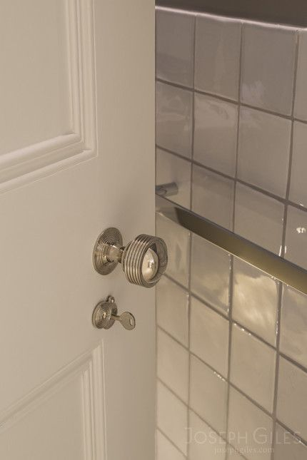 Bathroom Doors Handles joseph giles classic door handle in polished nickel finish on