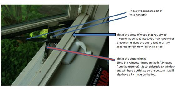 How To Replace A Casement Awning Operator For A Hurd Window