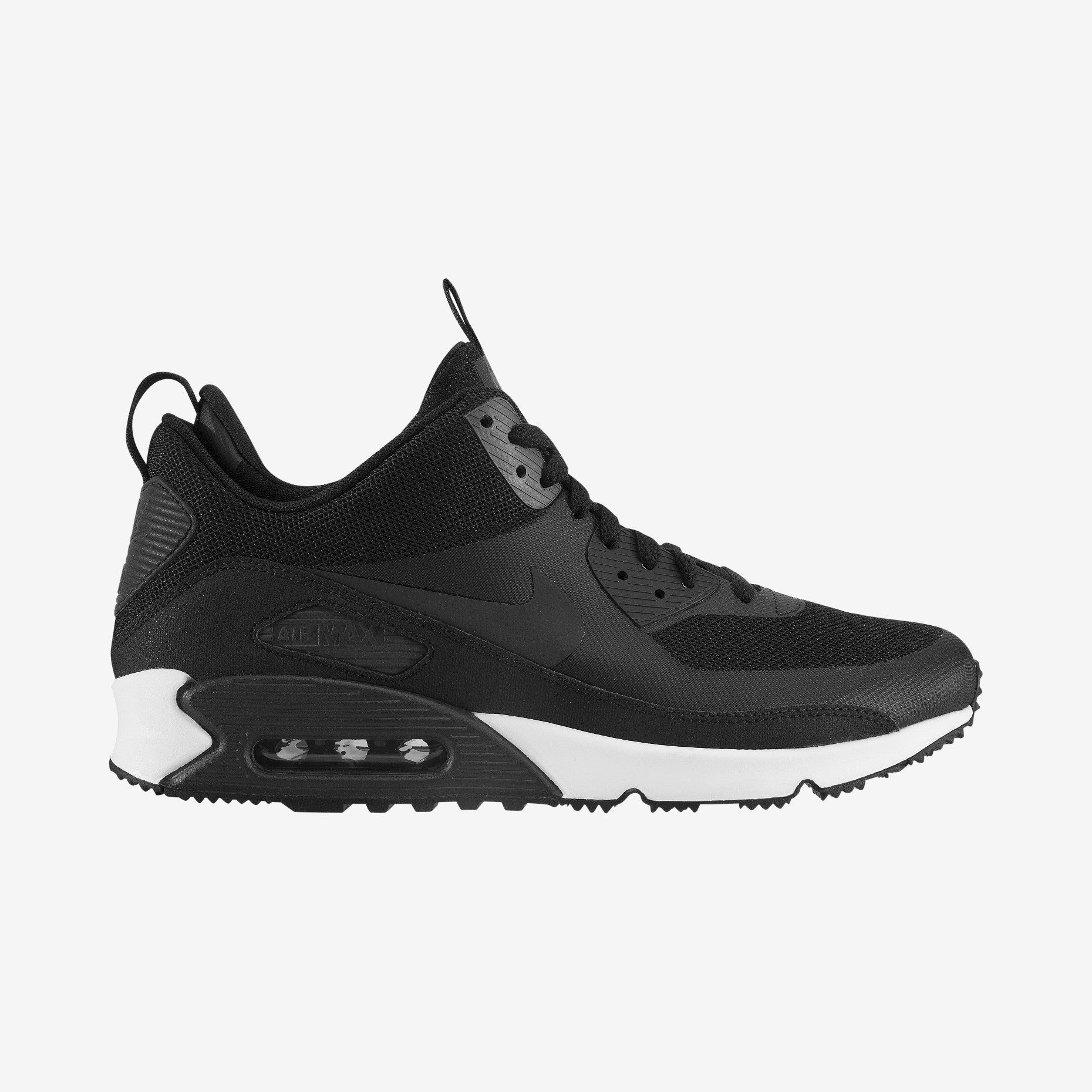 nike air max 90 waterproof sneakers boots black