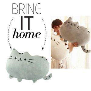 Bring It Home: Cat Pillow Cushion