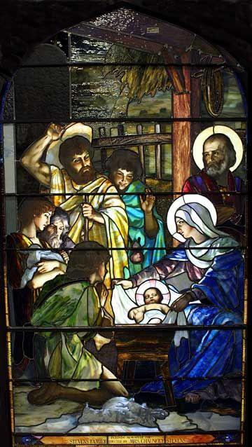 Client: St. Peter's Episcopal Church Location: Westfield, New York, restoration by Willet Hauser Architectural Glass