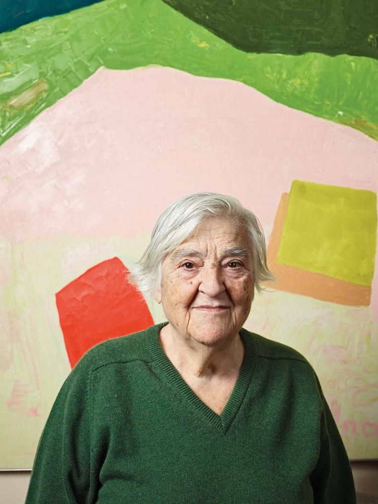 Why The Art World Has Fallen For 90 Year Old Etel Adnan