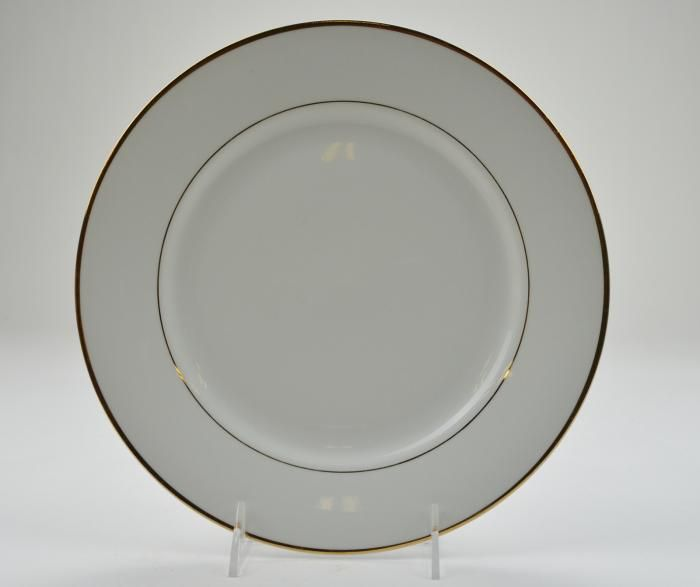 dinner plates | Gibson Designs Dinner Plate - Tuxedo Gold Pattern - 10.25 & dinner plates | Gibson Designs Dinner Plate - Tuxedo Gold Pattern ...