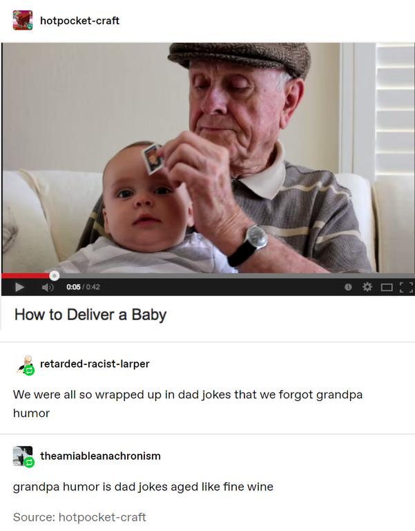 grandpa humor sommelier
