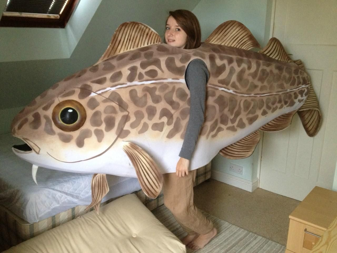 Totally gonna be my halloween costume just great pinterest fish costume solutioingenieria Choice Image