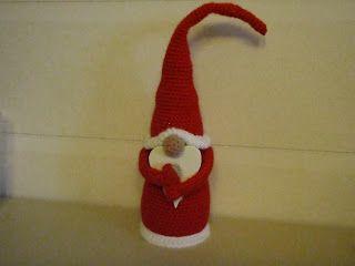 crochet tutorial for amigurumi santa claus ♥
