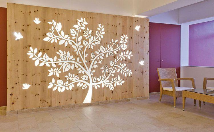 Parete Divisoria In Legno : Idee per pareti divisorie in legno dal design particolare in