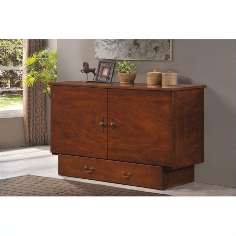 Arason Enterprises Creden Zzz Cabinet, Traditional Pekoe Queen Creden Zzz Cabinet Bed