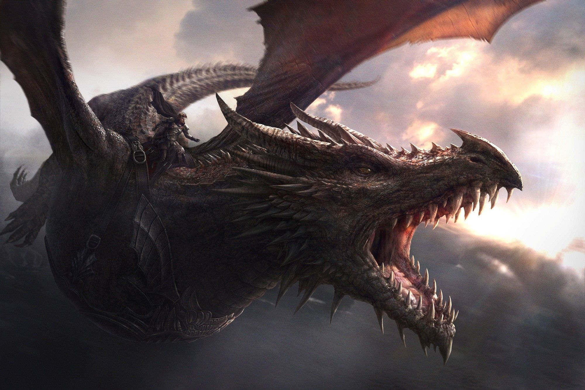 dragon, Game Of Thrones, Balerion Wallpaper Game of