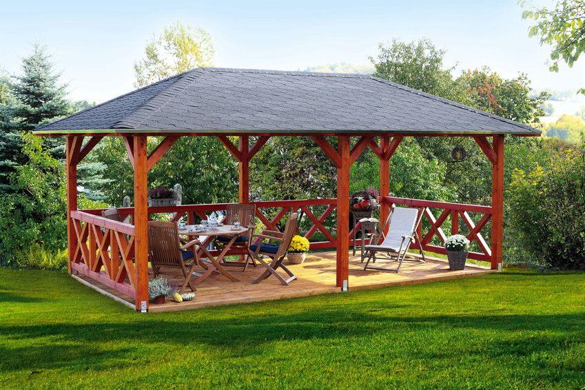 Pavillon Skanholz Orleans 4 Eck Pavillion Holzpavillon Ein Romantisches Platzchen Im Garten Garten Pavillon Holzpavillon Holz Pavillon