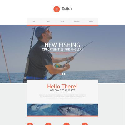 fishing muse template template and adobe