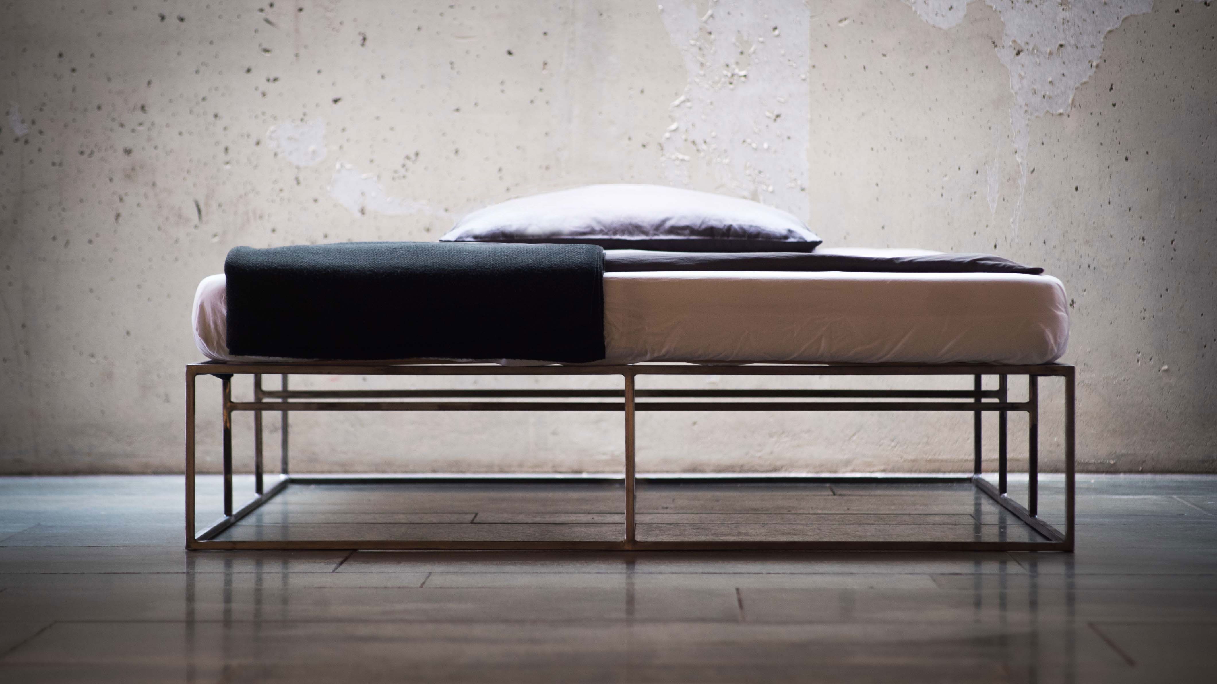 Design Berlin Stahlbett Steel Bed Metal Bed Industrial Design