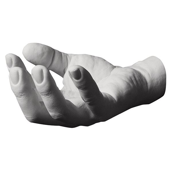 Harry Allen Grab Hand Hook (415 CNY) ❤ liked on Polyvore featuring home, home decor, fillers, hands, backgrounds, body parts, decorations and harry allen
