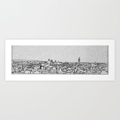 Skyline of Treviso Art Print by Alfredo Sabato - $13.73