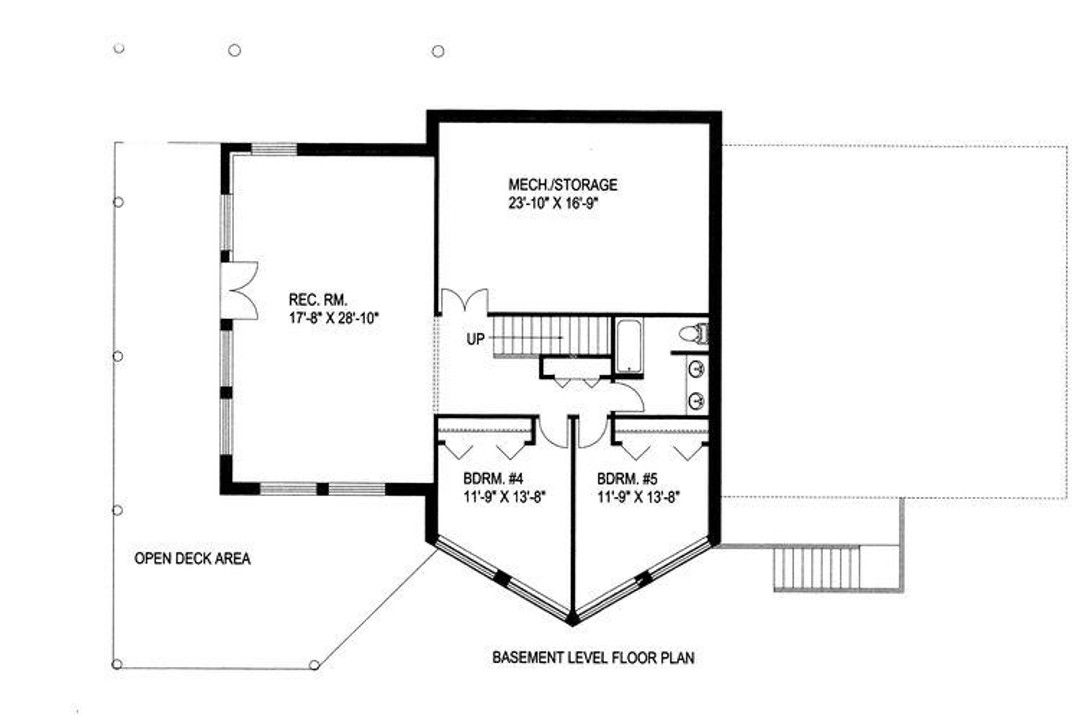 Hpm Home Plans Home Plan 001 1030 House Plans Floor Plans House Floor Plans