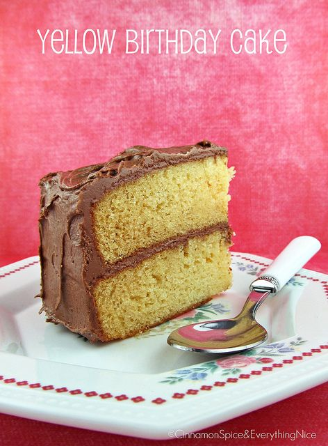 Best Yellow Cake Recipe From Scratch