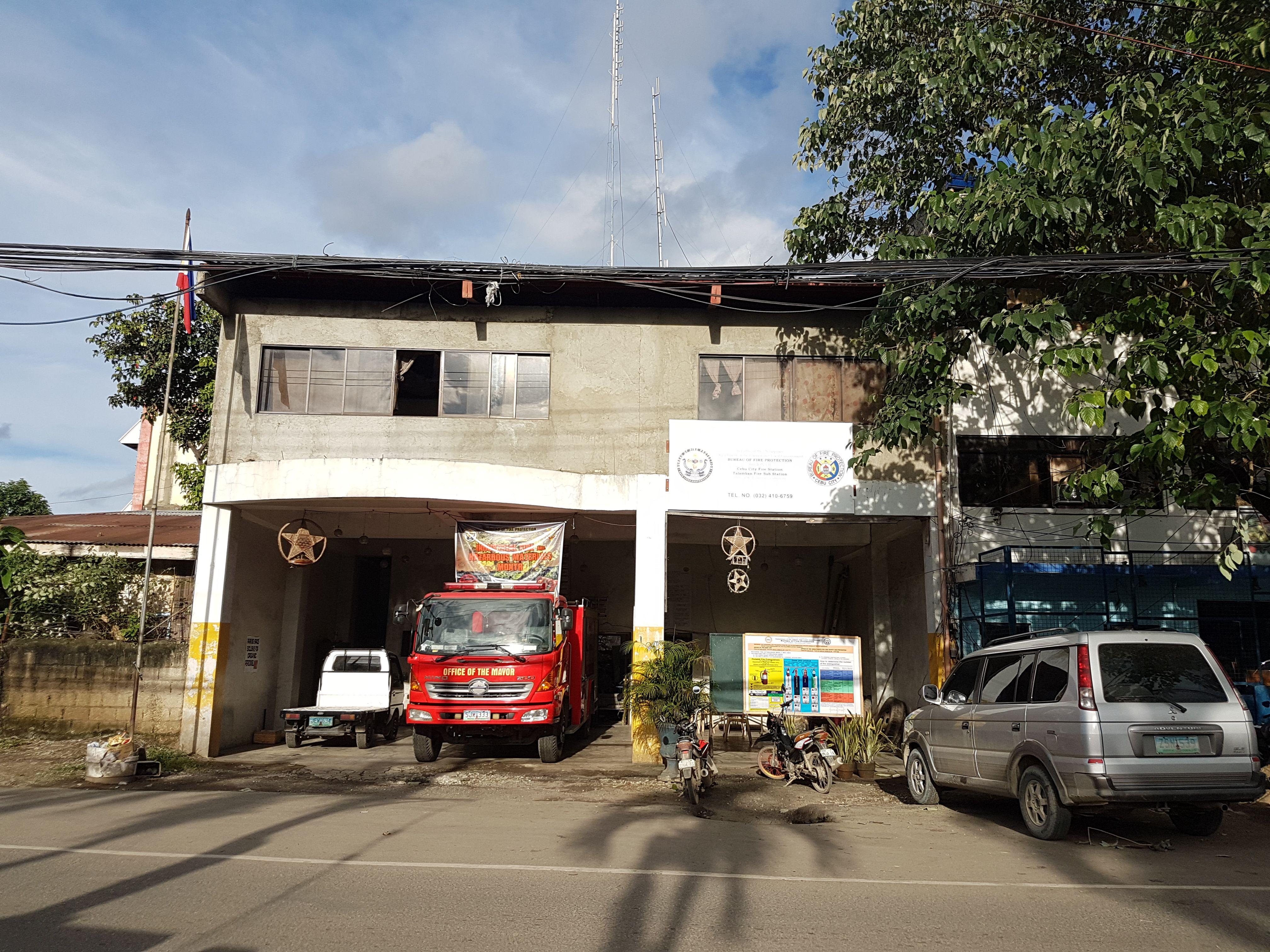 Cebu City Fire Station Fire station, Cebu city, Philippines