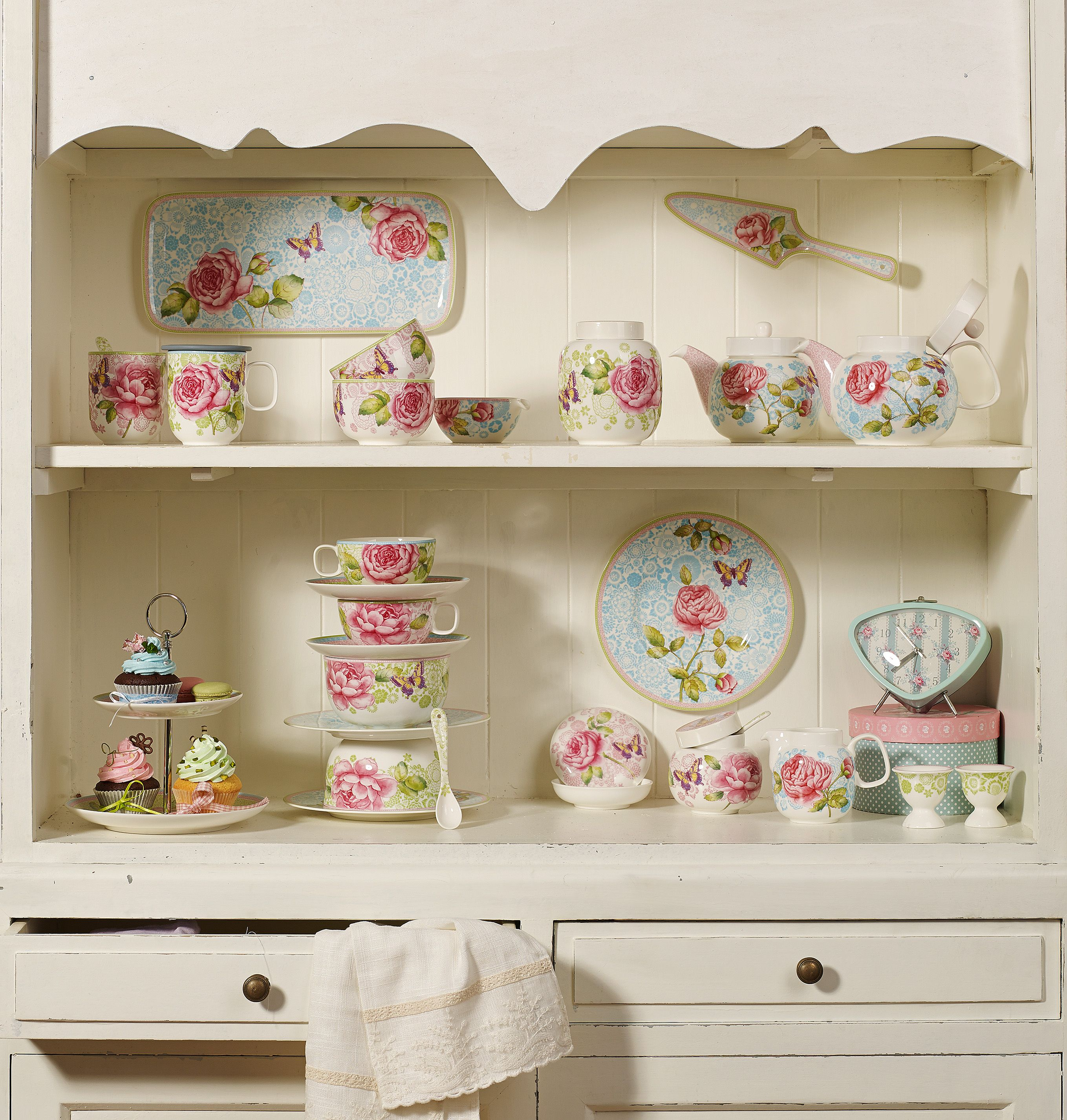 Alte Vitrinenschränke Rose Cottage By Villeroy Boch Vibo Info Fbshop Mother S