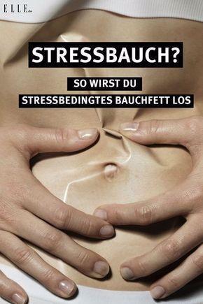 Eine der häufigsten Ursachen für Bauchfett ist Stress. Doch keine Sorge – mit einfachen Maßnahmen be...