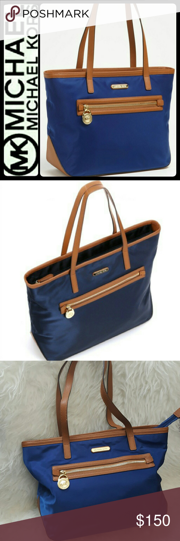 94e4bf26af26 Michael Kors Nylon Tote Shoulder Bag Michael by Michael Kors Signature Bag  in Sporty Chic Tote