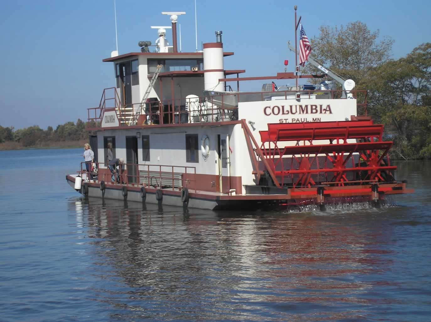 A Paddle Steamer Is Steamship Or Riverboat Powered By Steam Engine That Drives Wheels To Propel The Craft Through Water