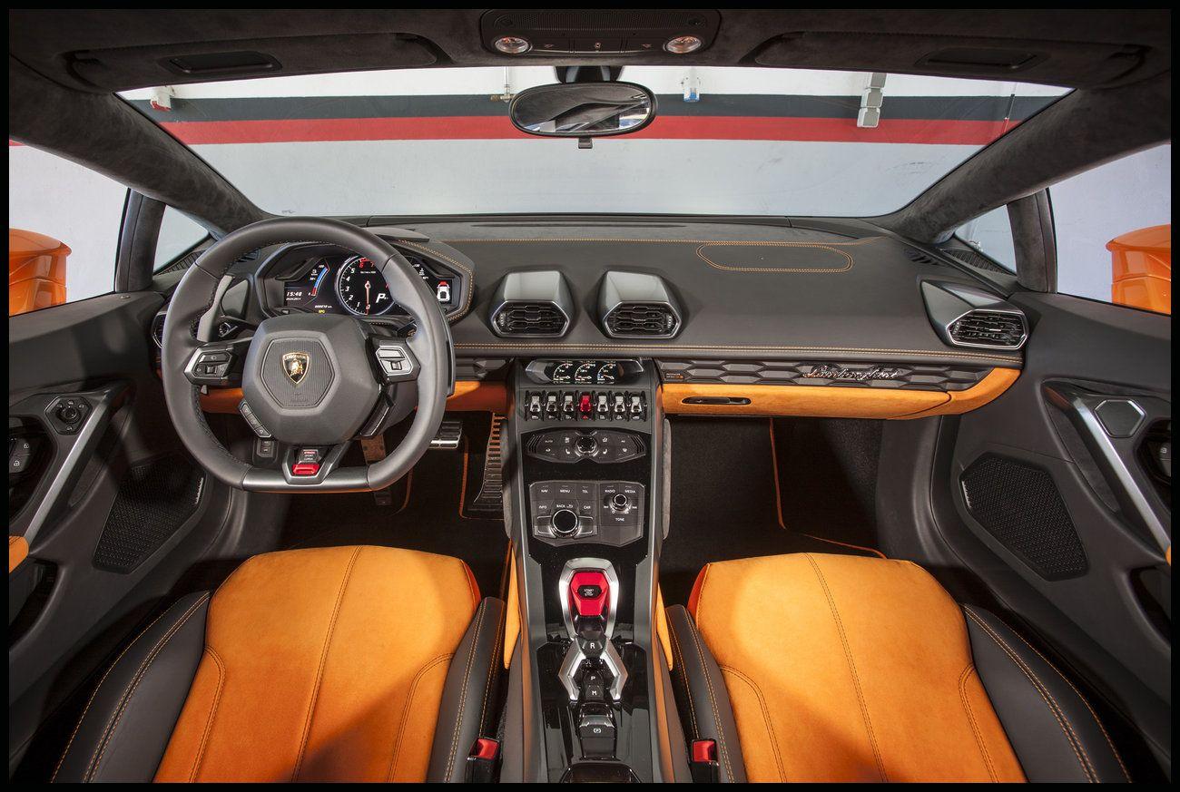 Lamborghini Huracán LP 610 4 Interior Dashboard Wallpaper