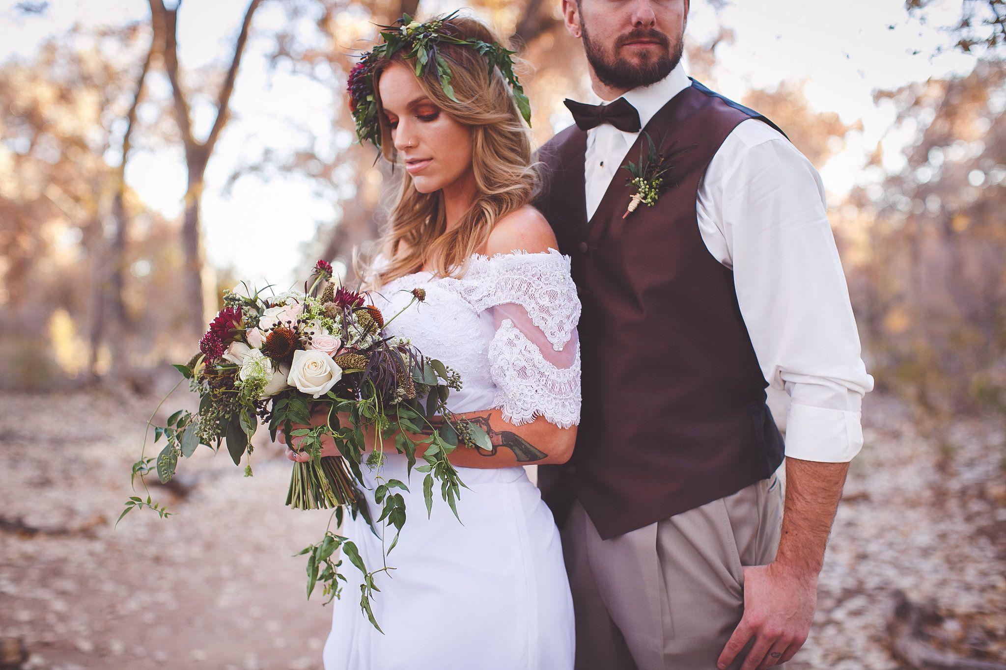 New mexico wedding magazine bohoglam styled shoot photos by