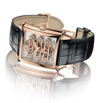 Luxury at its best! - GIRARD-PERREGAUX VINTAGE 1945 TOURBILLON WITH THREE GOLD BRIDGES Haute horlogerie, elegance and technology