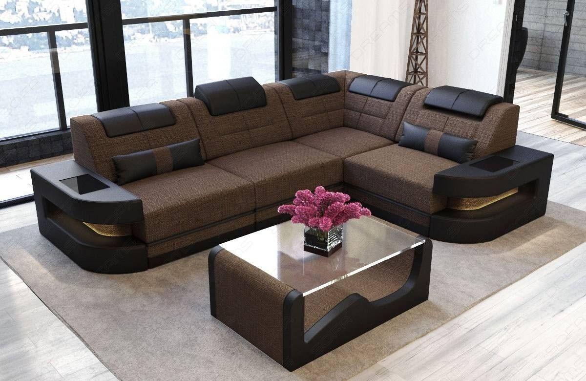 Fabric Sofa Modern Denver L In 2020 Latest Sofa Designs Corner Sofa Design Modern Sofa Living Room