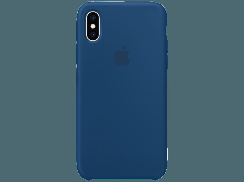 Apple Xs Silikon Case Backcover Apple Iphone Xs Silikon Horizontblau 00190198802866 Kategorie Smartphone Tarife Smartphone Iphone Fundas Mega Pixel