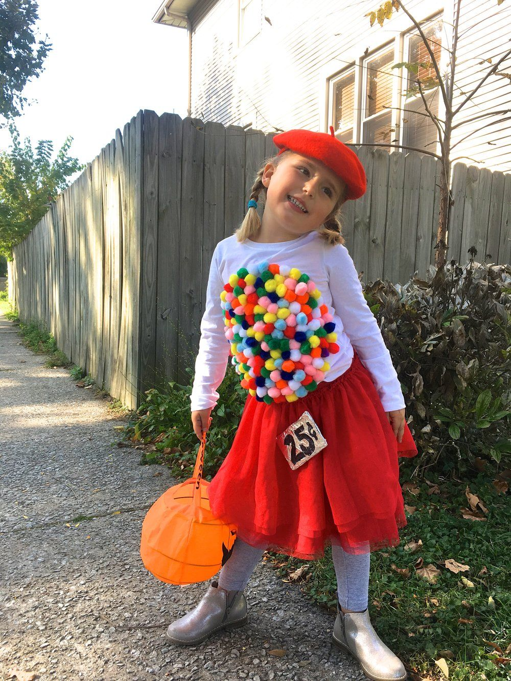 Easy DIY Halloween Costume Idea: Vintage Gumball Machine ...