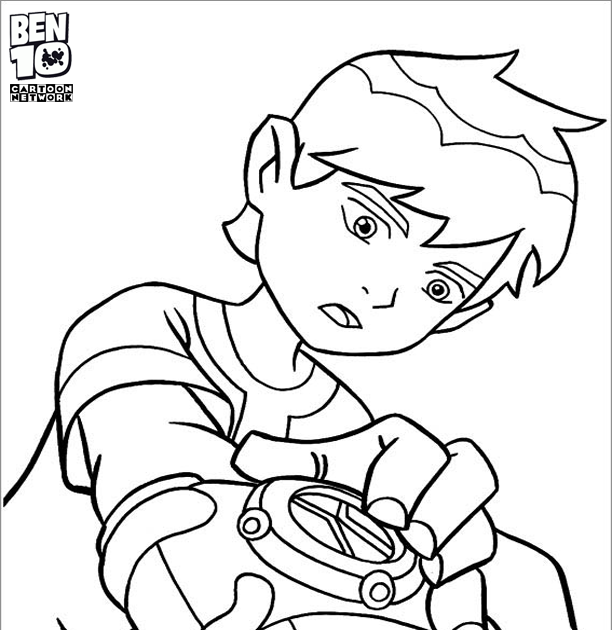 Draw Coloring Pages Ben 10 Watch En 2020