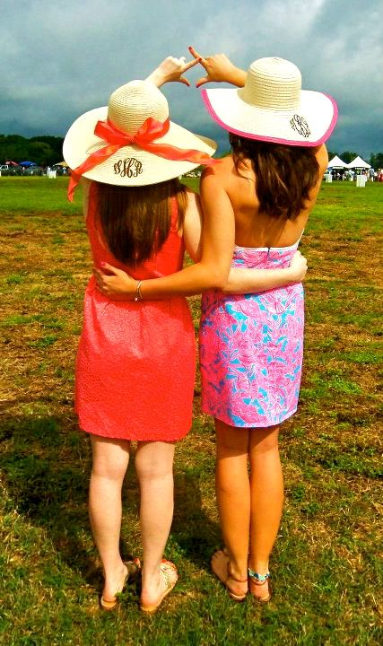Big little pics idea!!  JAS has the floppy monogrammed hats!  Call to order 335.524.0107