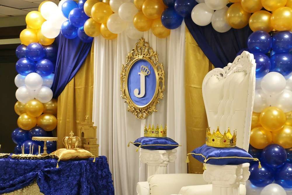 Royal Baby Shower Baby Shower Party Ideas