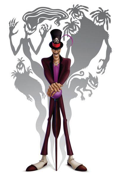 650 Ideas De Dr Facilier En 2021 Villanos De Disney Hombre Sombra La Princesa Y El Sapo
