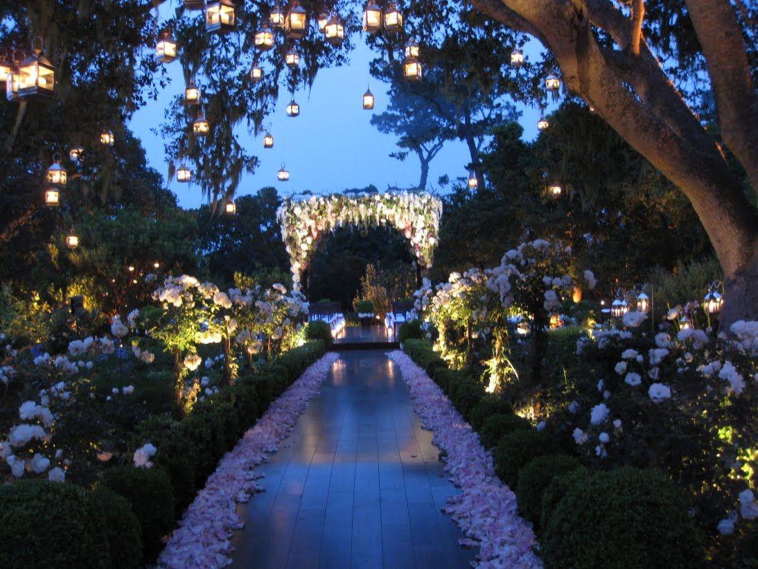 Enchanted Garden: Enchanted Garden Wedding Decor