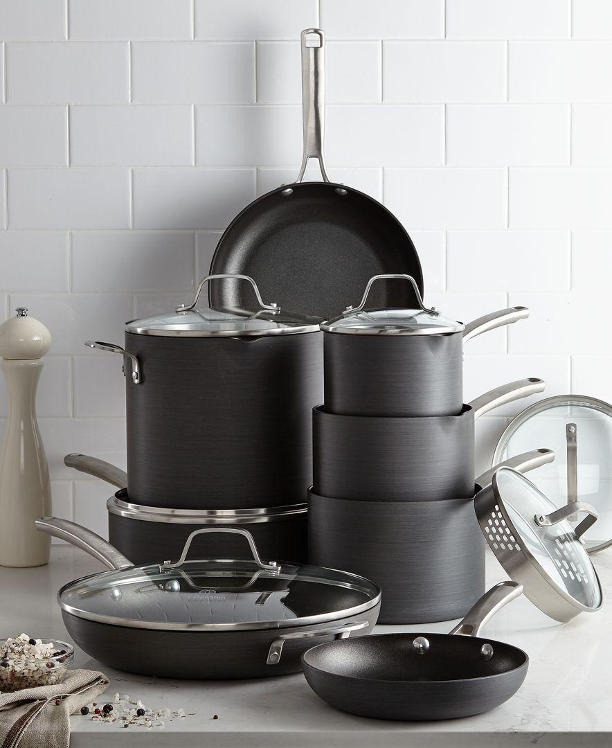 Classic Nonstick 14-Pc. Cookware Set