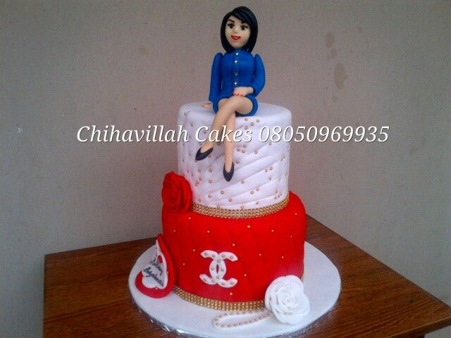 Channel cake by me Chihavillah