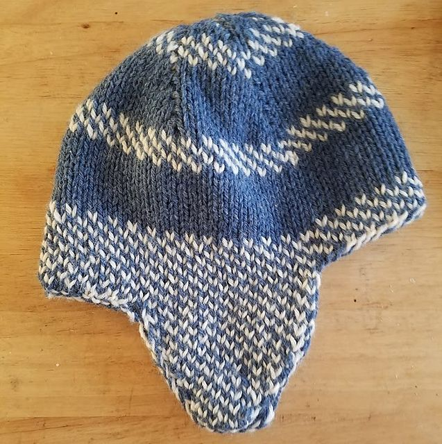Close Fitting Reversible Hat Uses Less Than A Ball 100g Each Of 2