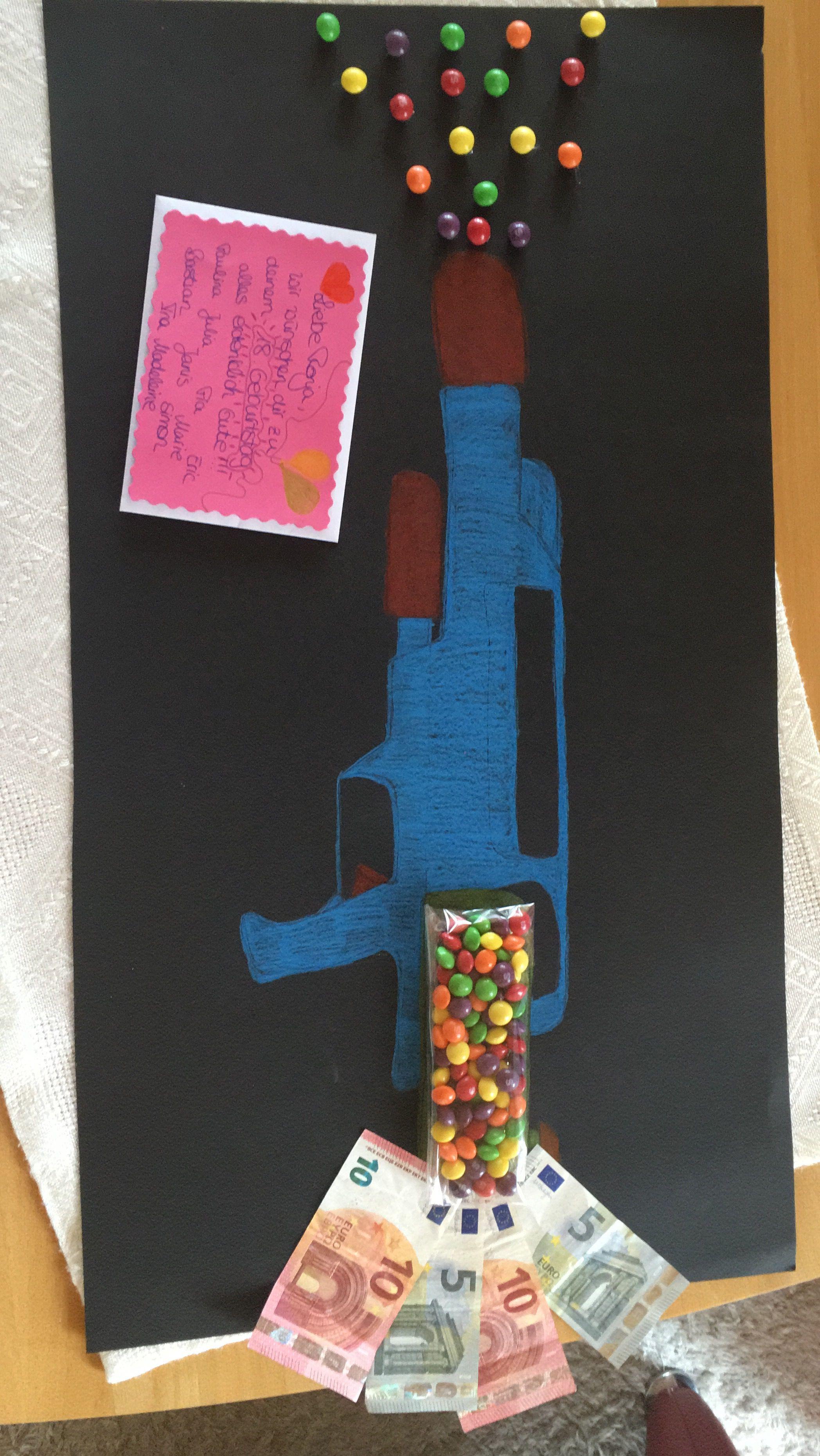 In Dem Umschlag Befinden Sich Zwei Paintball Gutscheine Gutschein Geschenke Geschenke Verpacken Kreativ Geschenke Basteln