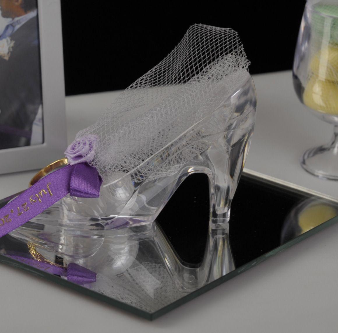 cinderella shoe centerpiece elegantgiftgallery com cinderella rh pinterest com