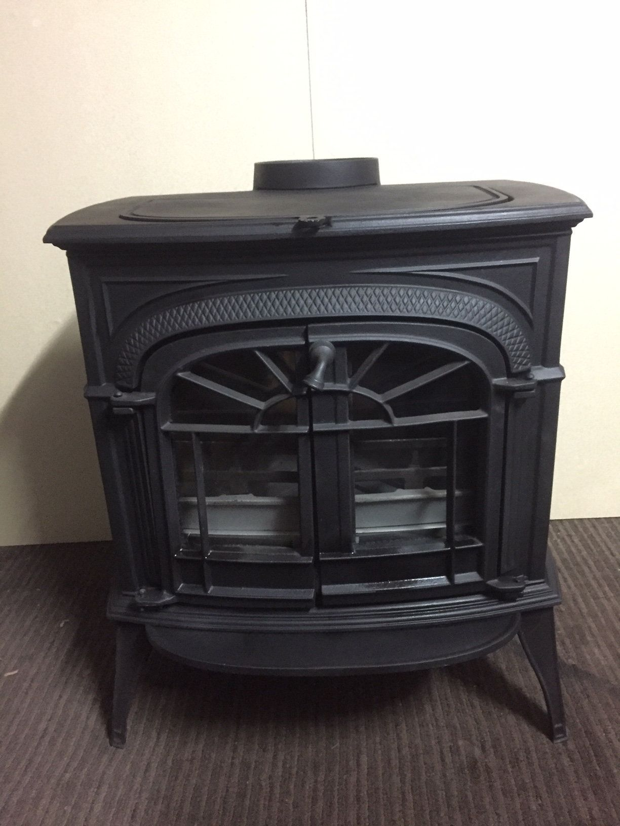 Vermont Castings Intrepid 2 Wood Burning Stove Fully Re Conditioned Re Furbed Wood Burning Stove Stove Wood Burning