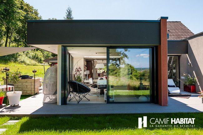 travaux extension maison simple extension maison ossature bois en cours de travaux chambery. Black Bedroom Furniture Sets. Home Design Ideas