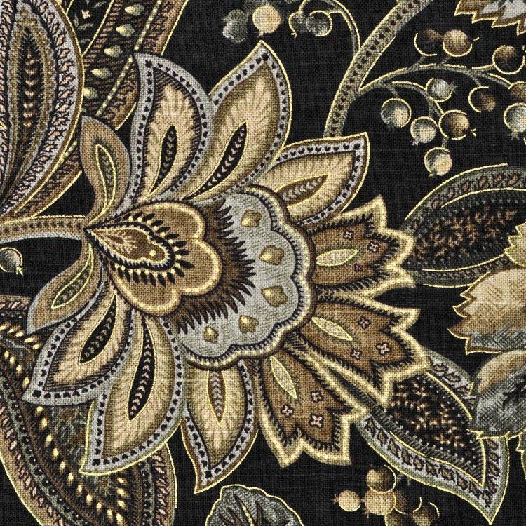 Swavelle / Mill Creek Valdosta Blackbird Fabric In 2020