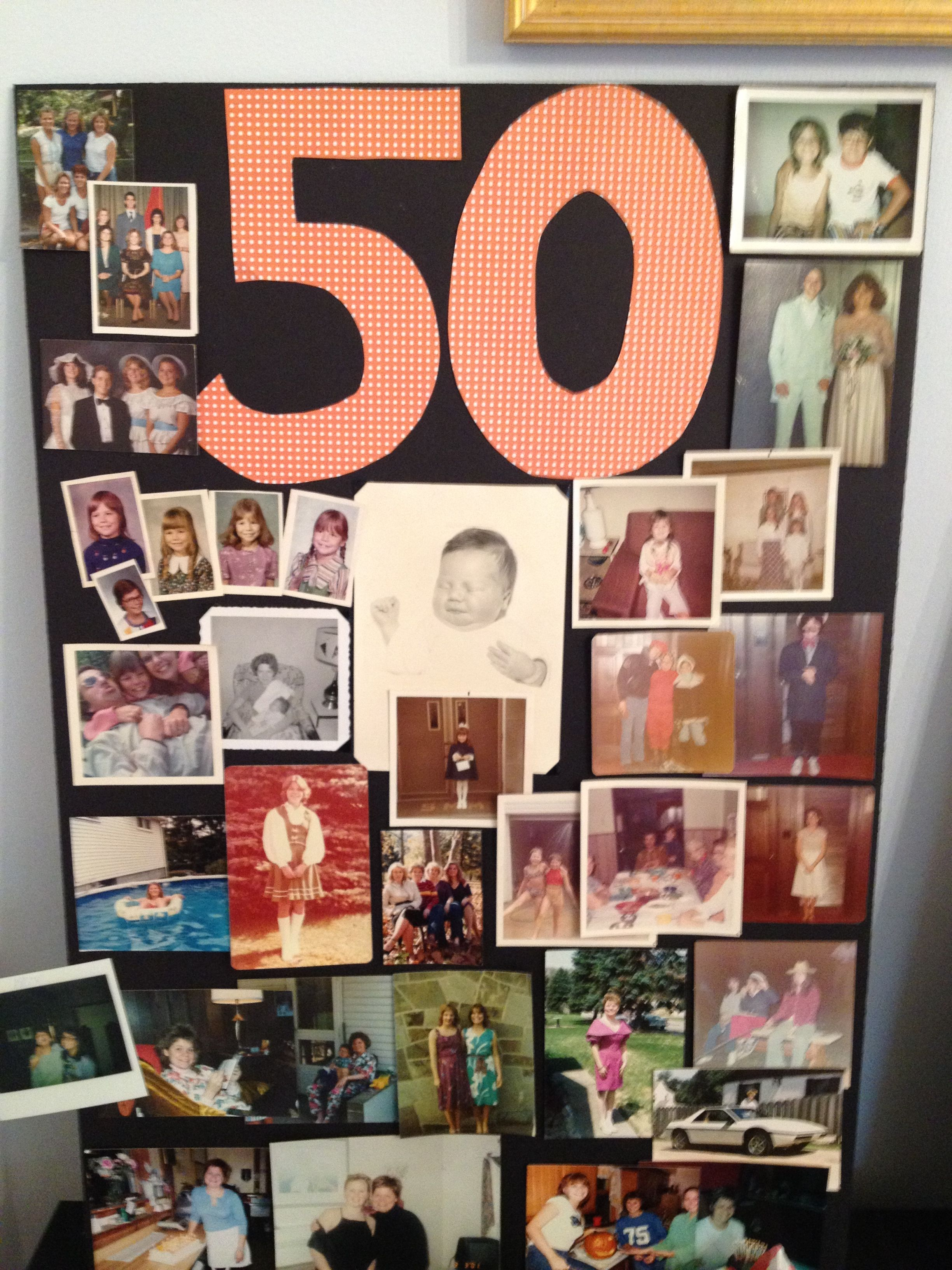 Birthday Photo Board 40th Birthday Party Men 40th Birthday Parties Mens Birthday Party Celebrate his big 40th birthday with a thoughtful gift. birthday photo board 40th birthday