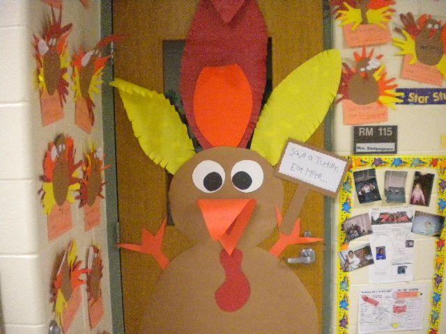 Fall Door Decorations For School | All Out Decorating Their Classroom Doors  For The Fall Door