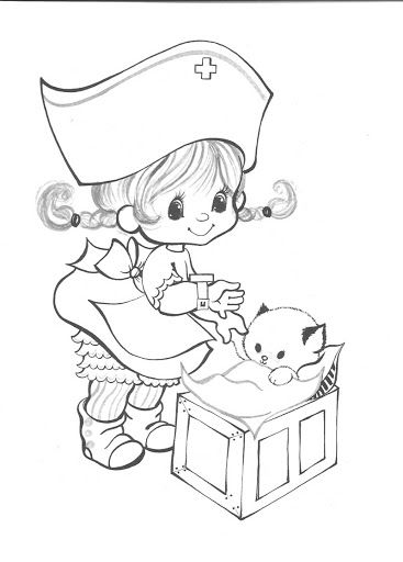 Opkikkertje Kleurplaat Charmers Coloring Pages Precious Moments Precious