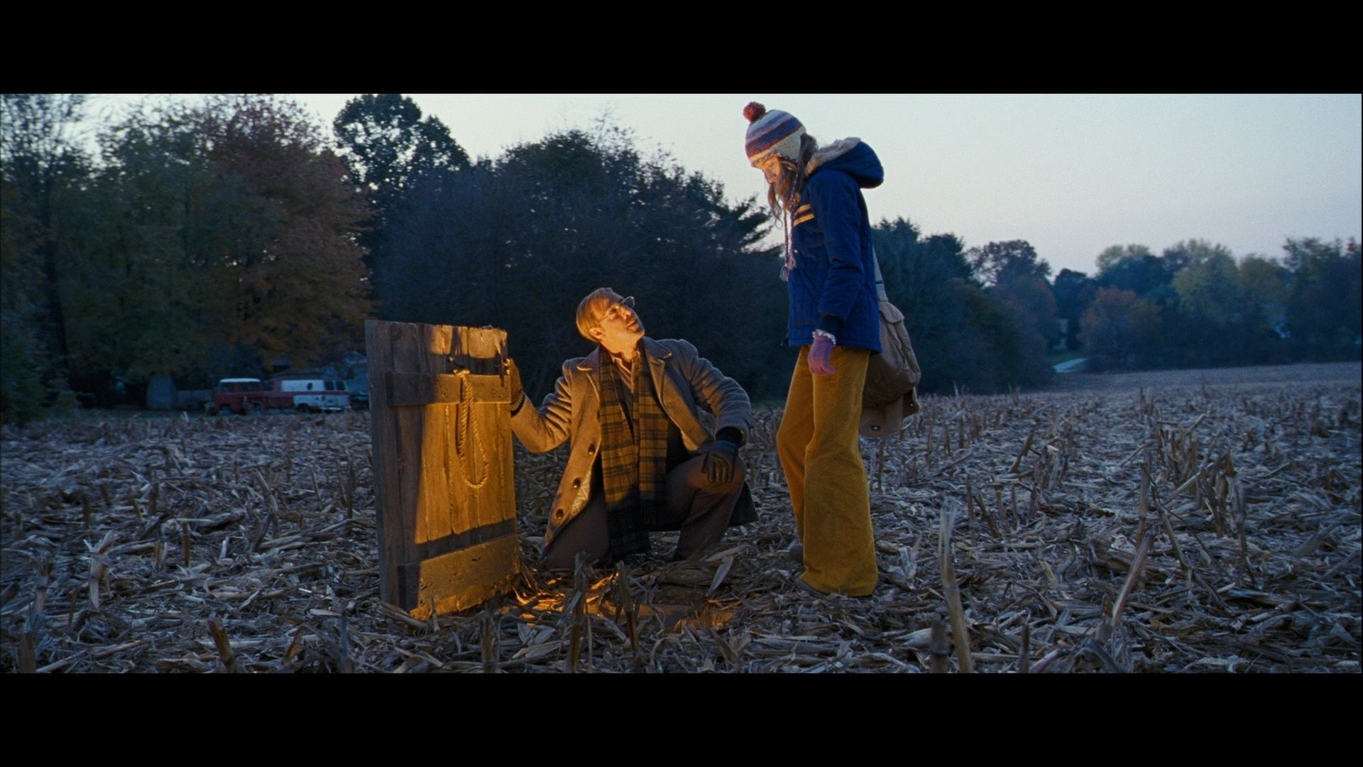 This Is The Cornfield That Suzie Salmon Died In As You See Here In This Picture There Is An Undergr The Lovely Bones The Lovely Bones Movie To The Bone Movie