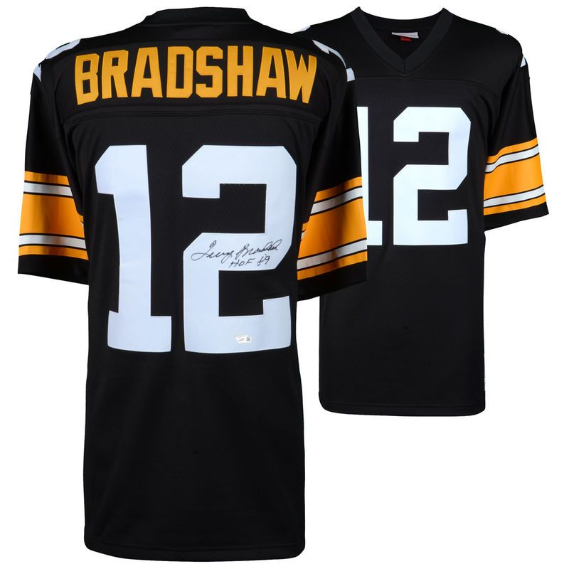 hot sale online bc598 317a7 Terry Bradshaw Pittsburgh Steelers Fanatics Authentic ...
